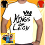 Kings Of Leon Camisa Banda Camiseta Masculina Punk Rock Meta