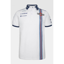Nova Pólo Oficial Williams Martini Racing F1 Team 2015 Em Sp
