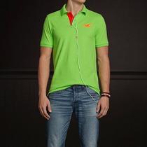 3 Camisas Polo Hollister Masculino Feminino A Pronta Entrega