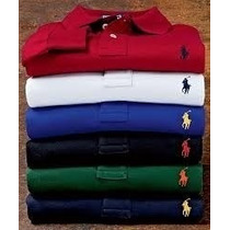 Camisas Polo Masculino Lindas Camisas 3 Polos Ralph Lauren