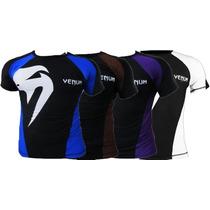 Camisa Venum Lycra Giant Rashguard Submission Mma Ufc
