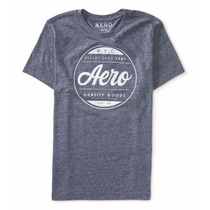 Camisa Aeropostale Quality Goods Seal Logo Graphic T
