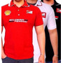 Camisa Camiseta Polo Ferrari Scuderia Sem Juros