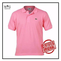 Camisa Polo Lacoste Rosa Tommy Osklen Hollister Original