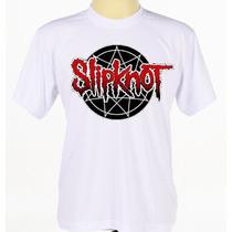 Camiseta Customizada Slipknot Blusa Banda De Rock Rap