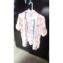 Camisa Feminina Marca Clock House Usada Estado De Nova.
