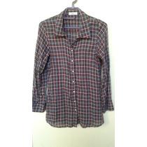 Blusa Camisa Xadrez Feminina G *frete Grátis
