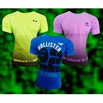Kit C/03 Camisetas Várias Marcas Você Escolhe No Mostruário!
