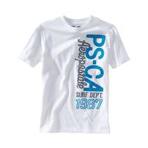 Aeropostale Meninas Ps-ca Surf Dept Graphic T-shirt