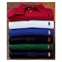 Camisa Polo Kit Varias Marcas Tommy Acostamento Ralf Sergiok