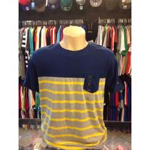 Camiseta Tommy Hilfiger Azul Tam G #1987 Polo Camisa