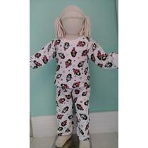 Pijama Infantil Flanelado.