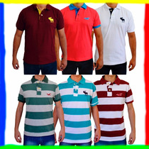 Camiseta Camisa Polo Abercrombie & Fitch E Hollister !!!