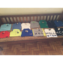 Camisetas Polo Hollister , Abercrombie 100%originais