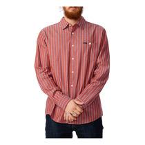 Rvca Mens O Ls Filtro Botão De Camisa