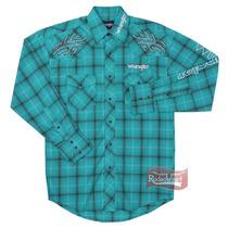 Camisa Masculina Importada Xadrez Manga Longa - Wrangler 141