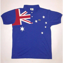 Camisa Polo Lacoste Austrália Bordada Frete Gratis Para País