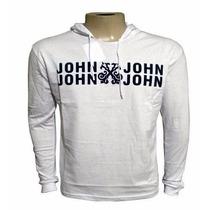 Camisa Jonh John M. Longa Branca