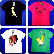 Camisetas Básicas Lacoste-hollister-ralph Lauren