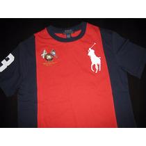 Camisa Camiseta Infantil Polo Ralph Lauren