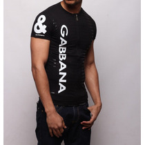 Camisa Vertical Com Ziper P, M, G E Gg D&g Ea Ga Armani