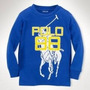 Camisa Polo Ralph Lauren Manga Comprida - Importada Original