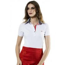 Camiseta Gola Pólo Feminina Principessa Ticiana
