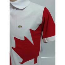 Camisa Polo Edção País Canadá Frete Gratis P/ Todo País