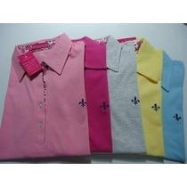 Kit C / 03 Camisas Polo Dudalina Feminina Frete Barato!!!!