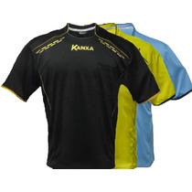 Camisa Árbitro Futebol Kanxa 5585 Juiz Oficial Profissional.