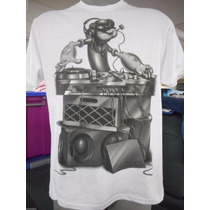 Camisa Popeye Dj - Importada - Tamanho Grande - Nova