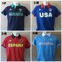 Camisa Polo Bravas Kappa Original Países !!!!