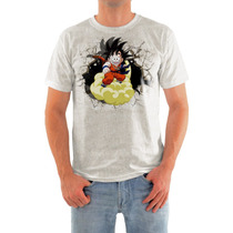 Camisa Dragon Balll Goku Em Malha Dryfit Alta Qualidade