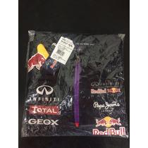 Camisa Polo Red Bull Infiniti Racing F1 Team Wear 100% Origi