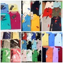 Kit 20 Camisas Polo Masculina Atacado Diversas Marcas!