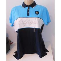 Tommy Hilfiger Camisa Polo Bordado G Xg Xxg Fem Original Eua