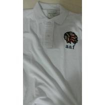 Camiseta Pólo Abercrombie & Fitch Original Tam G