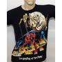 Camisa Camiseta Iron Maiden Rock Bandas Masc / Fem Original