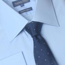 Camisa Para Abotoadura Punho Duplo Algodão Egípcio 01 1029