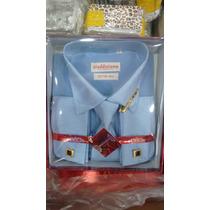 Camisa Social Masculina Importada Manga Longa (kit Completo)