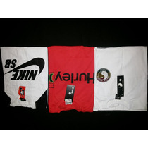 3 Camisas Skate Nike Sb + Hurley + Town Country - Confira!