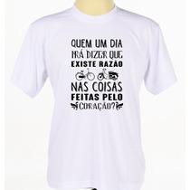 Camisa Personalizada Banda Rock Legiao Urbana Manga Curta