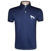 Camisa Polo Acostamento Azul Marinho Ac101