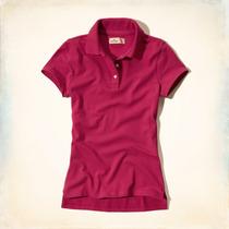 Camisa Camisetas Pólo Feminina Abercrombie & Fitch Hollister