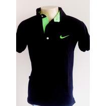Camiseta Masculina Gola Polo Kit 3 Uni.