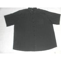 Camisa Masculina Super Plus Size Manga Curta Tradicional