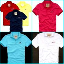 Camisa Polo Kit C/2 Peças Hollister E Abercrombie