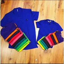 Camisa Camiseta Polo Masculina E Infantil Marca Elefant Colo