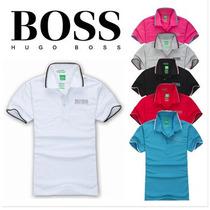 Camisa Polo Masculina Hugo Boss Importada
