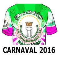 Mangueira 2016 - Camisa De Enredo Do Carnaval 2016